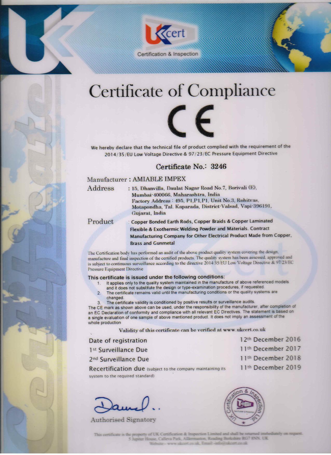 Pressure Equipment Directive 97/23/EC
